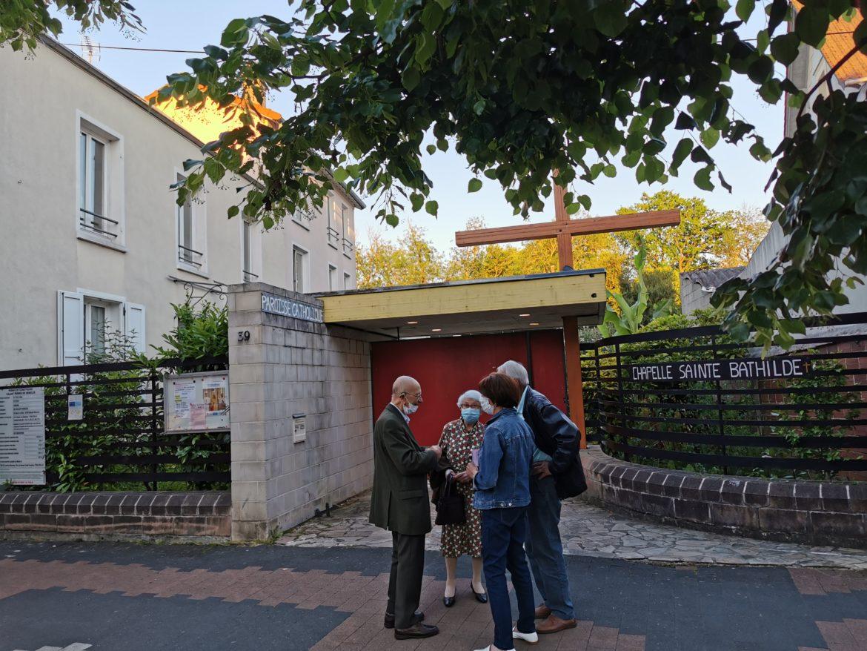 Entrée de l'ancienen chapelle Ste Bathilde Meaux