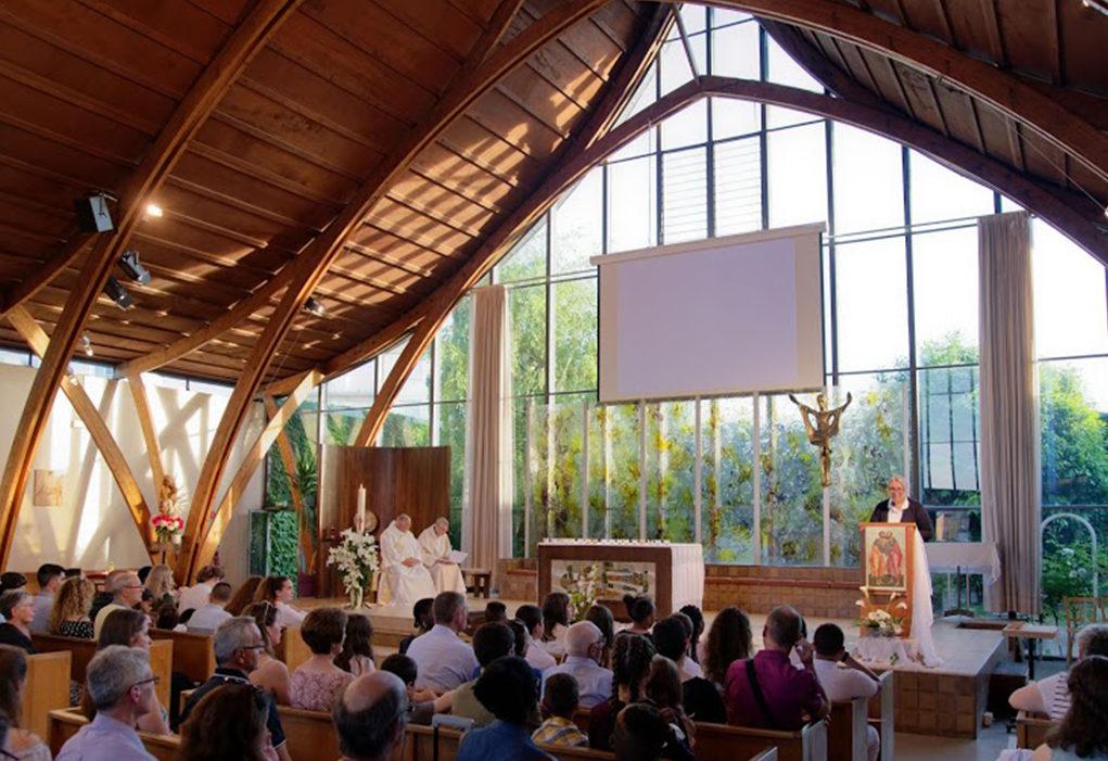 Messe en l'église Saint-Paul