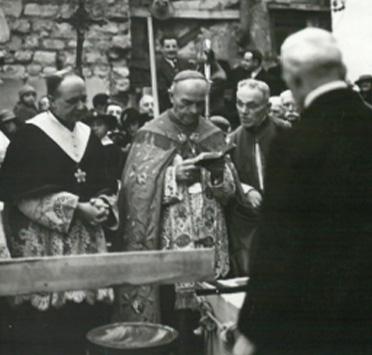 le cardinal Verdier à Asnières