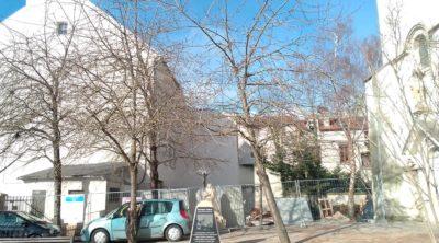 Chantier en cours à la maison Saint-Nicolas de Meaux (77)