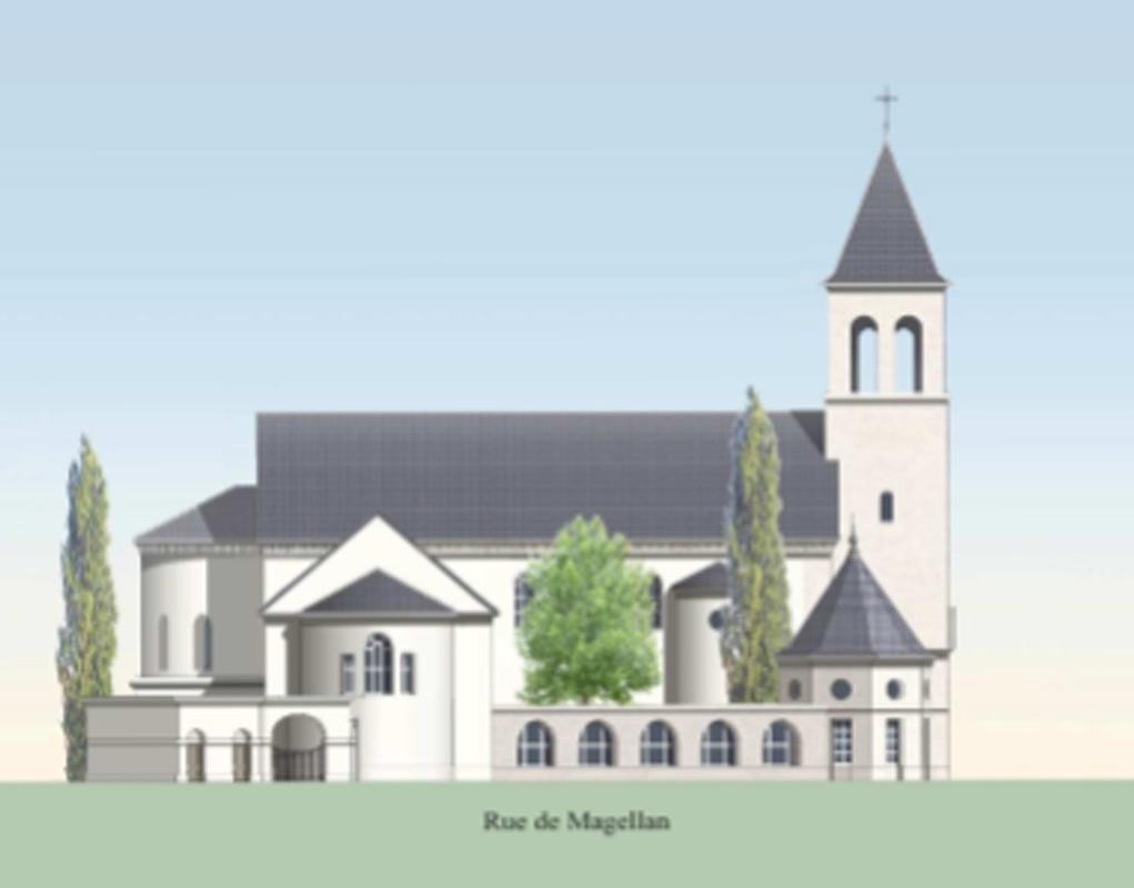 Nous bâtissons pour assurer la présence de l'Église dans les nouveaux quartiers