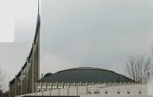 Projet de l'extension, vue de la façade nord