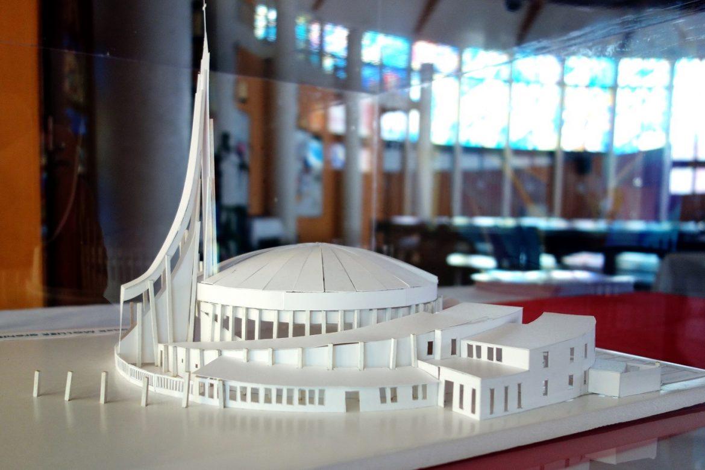 Projet de l'extension, maquette