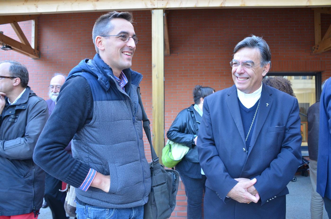 Mgr Aupetit et Bruno de Maistre