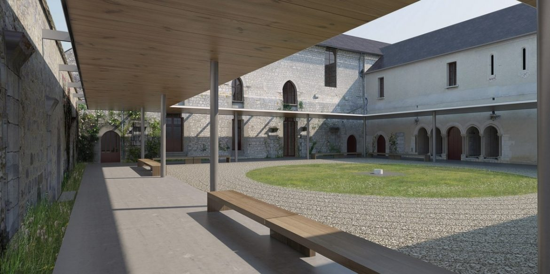 Cloître Notre-Dame-de-L'Ouÿe