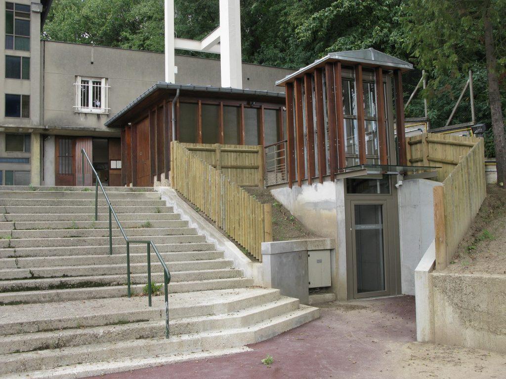 Accessibilité église de Chaville