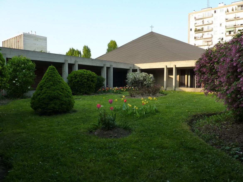 La toiture du Saint-Esprit en 2015