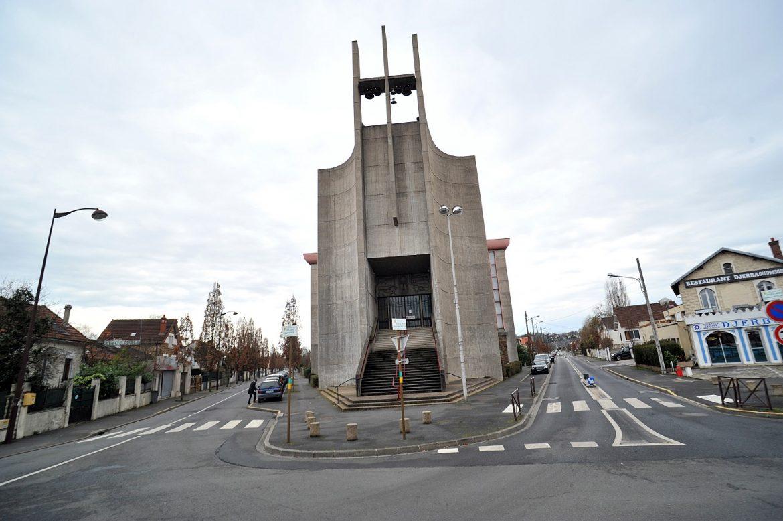 Rénovation de l'église du Saint-Esprit à Viry-Châtillon (91)