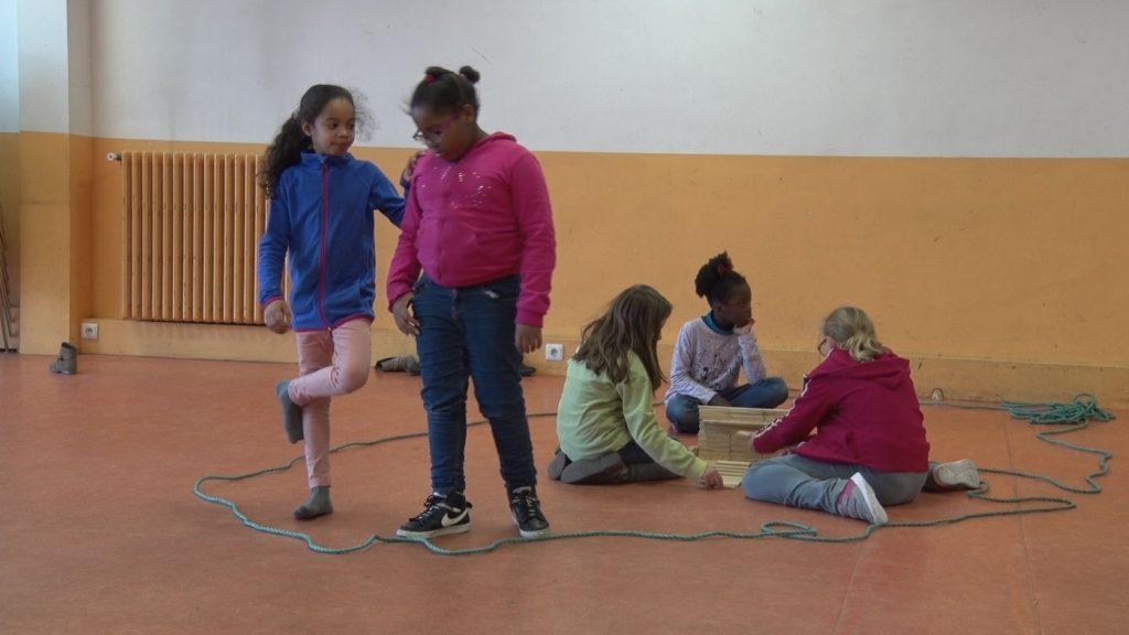 enfants patronage dans le 19e arrondissement