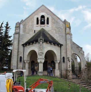 Église Sainte-Marie-des-Fontenelles à Nanterre