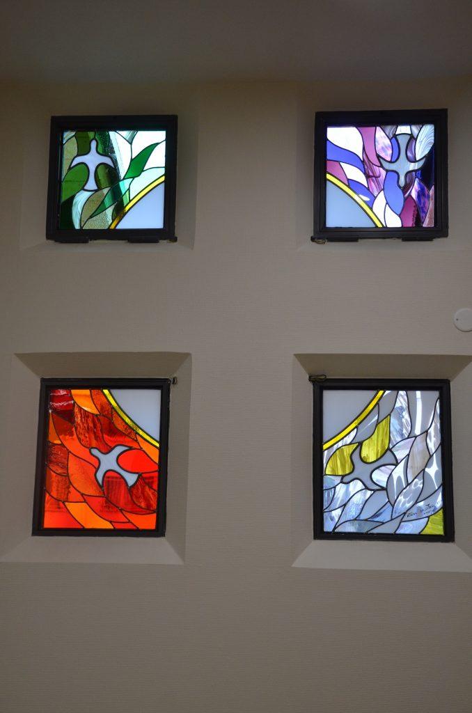 Les 4 vitraux