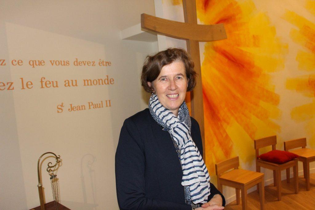 Anne, paroissienne de Saint-Pierre-Saint-Paul et mère de trois garçons
