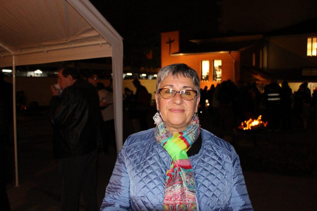 Natalina, paroissienne de Saint-Pierre-Saint-Paul depuis 40 ans