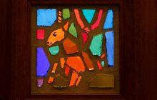 Repose vitraux Notre-Dame-de-l'Assomption-des-Buttes-Chaumont