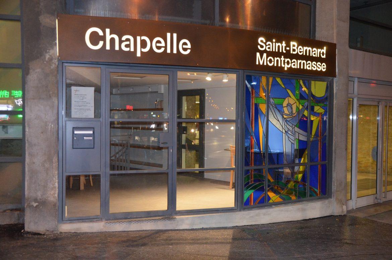 Saint-Bernard du Montparnasse, la nuit