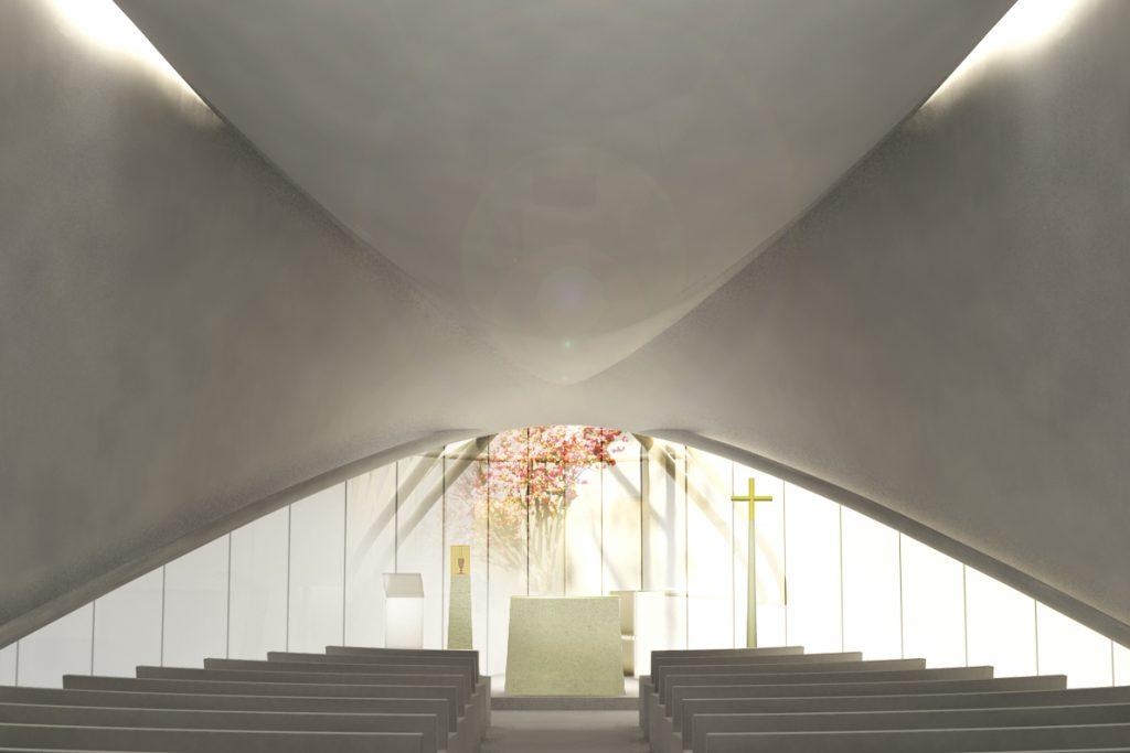 Le chœur de Saint-Paul-de-La-Plaine