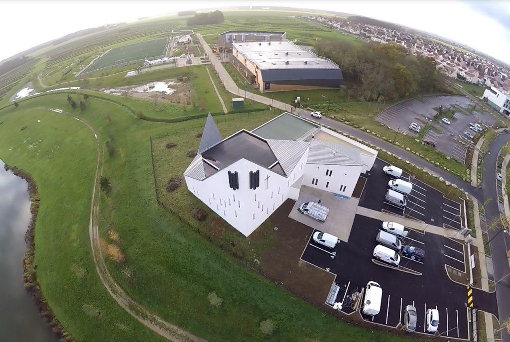 Le projet de l'église Saint-Pierre dans la ville