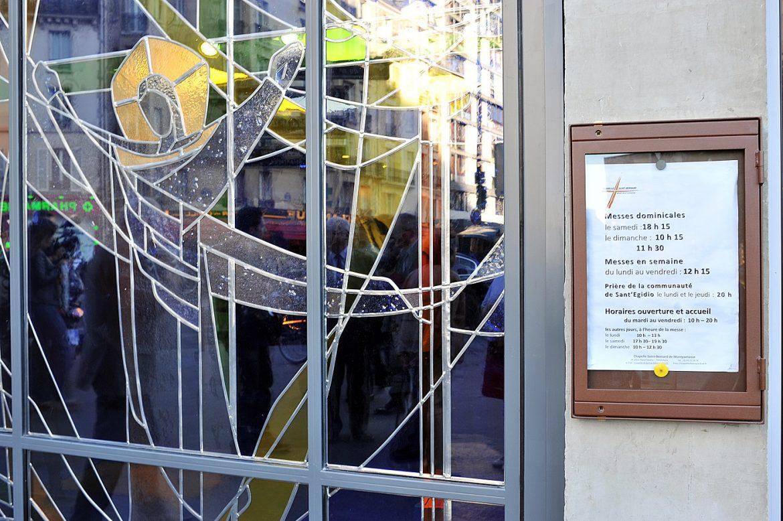 Travaux à la chapelle Saint-Bernard-de-Montparnasse à Paris 15e