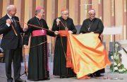 20 septembre 2015, Inauguration de la cathédrale de Créteil déployée