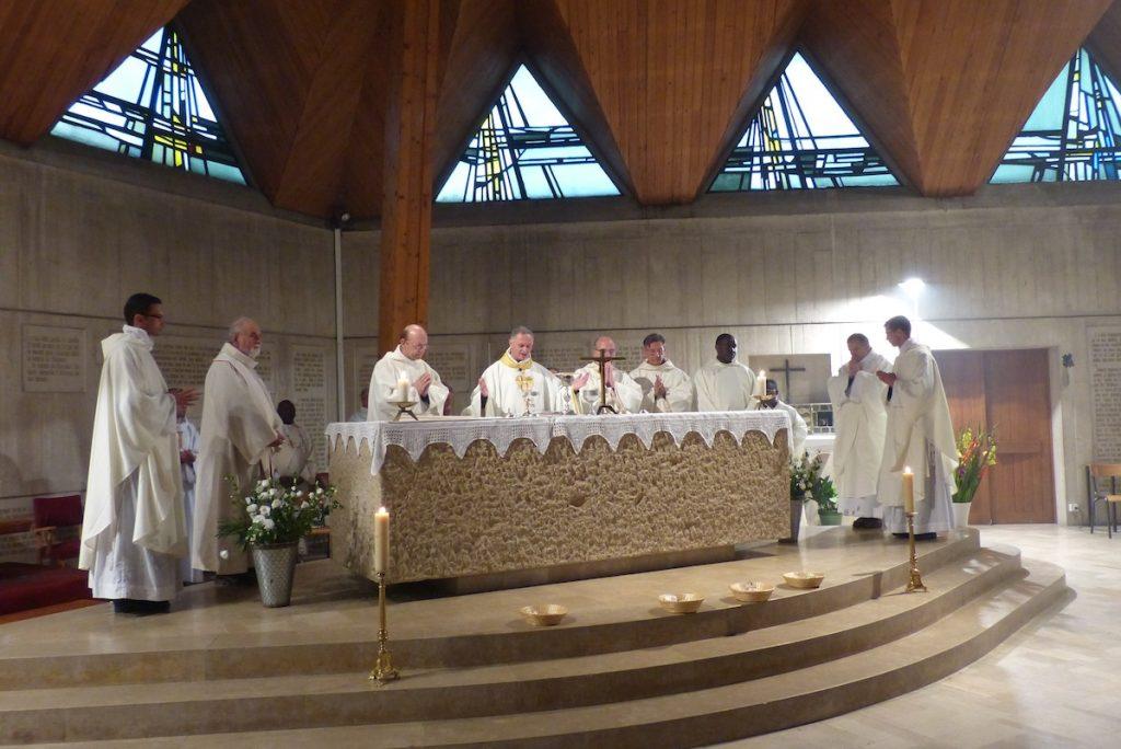Bénédiction du centre culturel de Notre-Dame-des-Roses le le 14 septembre 2013