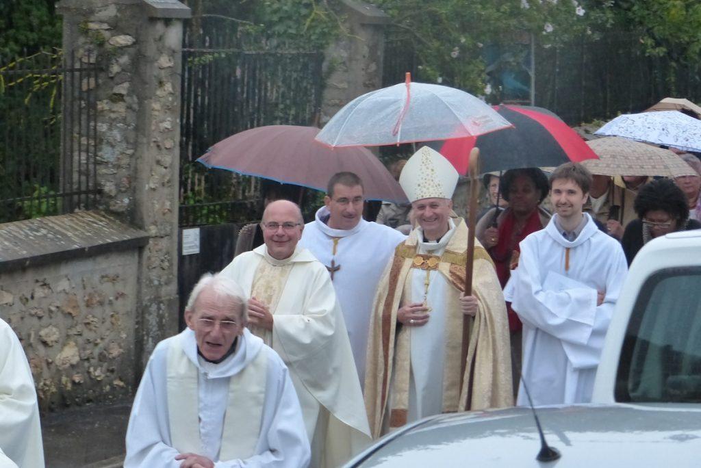 Bénédiction du centre culturel de Notre-Dame-des-Roses, le 14 septembre 2013