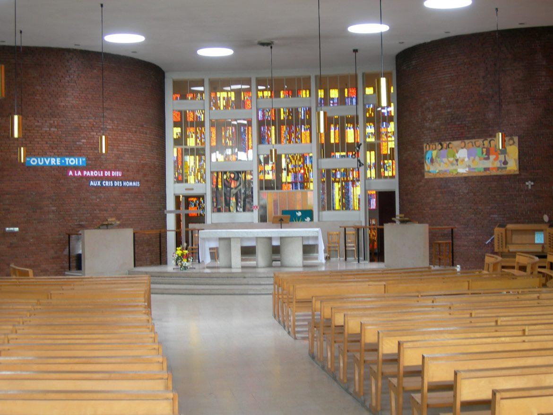 Église Saint-Michel-du-Mont-Mesly à Créteil