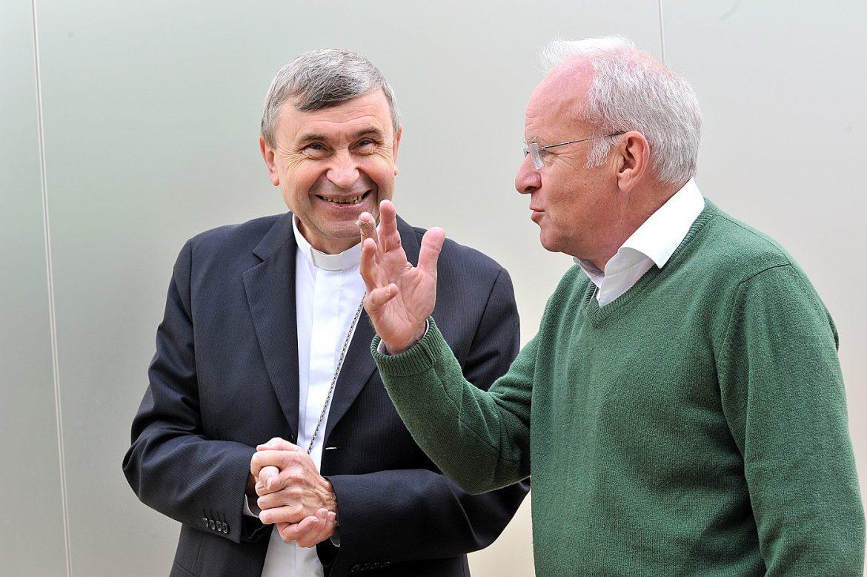 Patrick Berger et Mgr Delannoy