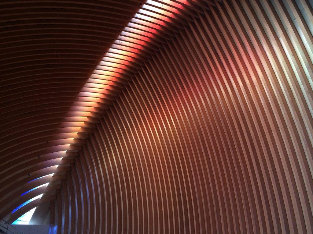 L'arc verrier, œuvre d'Udo Zembok