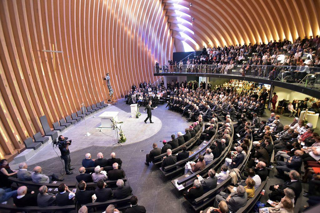 Inauguration de la cathédrale Notre-Dame-de-Créteil
