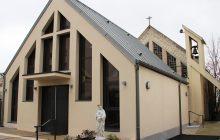 Les travaux ont permis de créer une extension devant l'église.