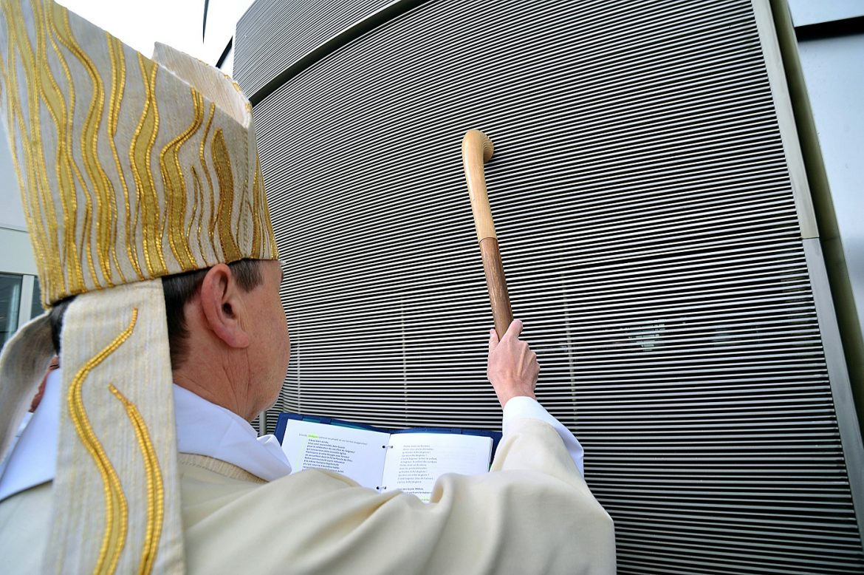 24 mai 2014, consécration de l'église Saint-Paul-de-La-Plaine à la-Plaine Saint-Denis