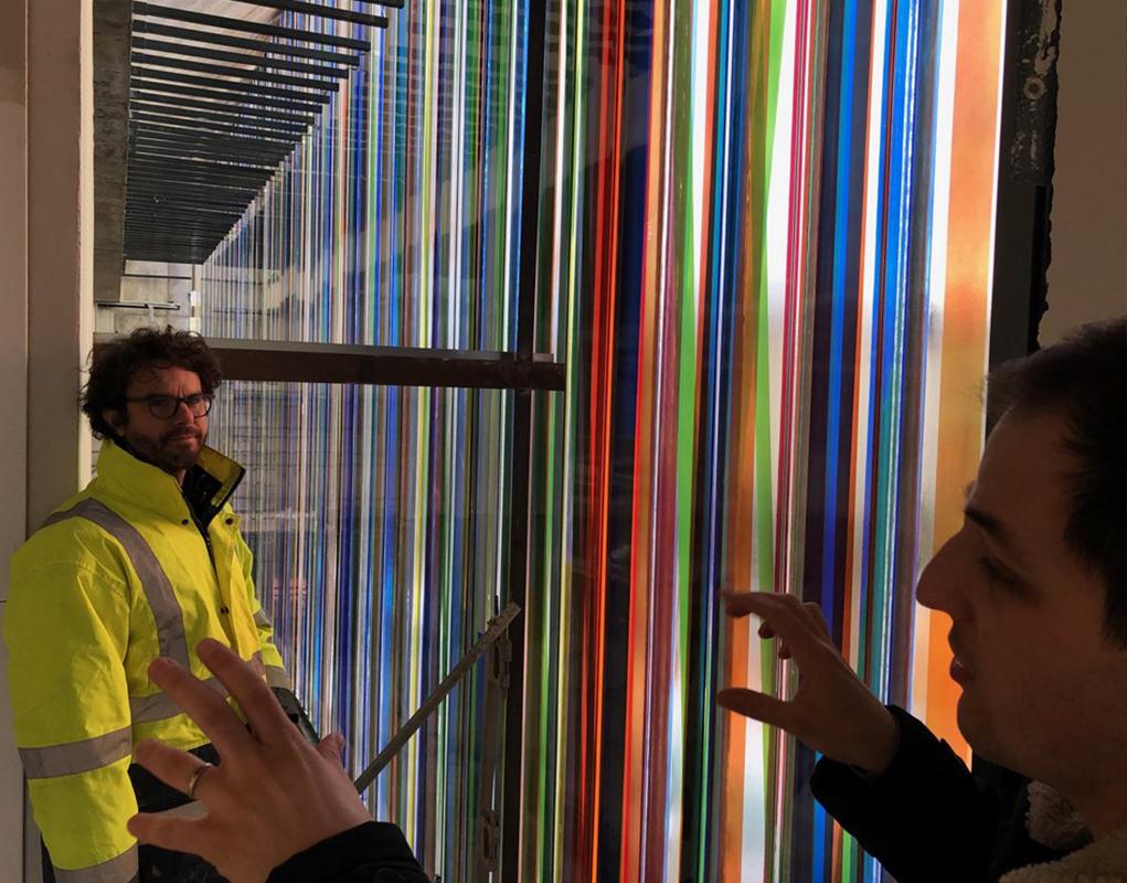 Images et lumière, une exposition sur le vitrail contemporain