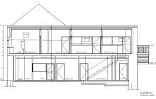 Le plan de la maison paroissiale d'Aubergenville