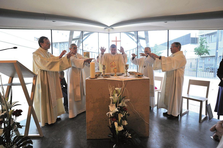 Choeur de l'église Saint-Paul-de-la-Plaine à la-Plaine-Saint-Denis
