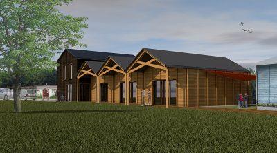 Nouvelle maison paroissiale Saint-Jean-Baptiste au Plessis-Trévise (94)