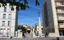 Vue l'église Sainte-Madeleine de Limeil-Brévannes, depuis la rue