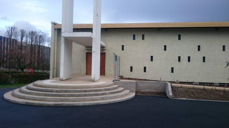 Nouvelle rampe pour l'église Saint-François d'Assise à Antony (92)