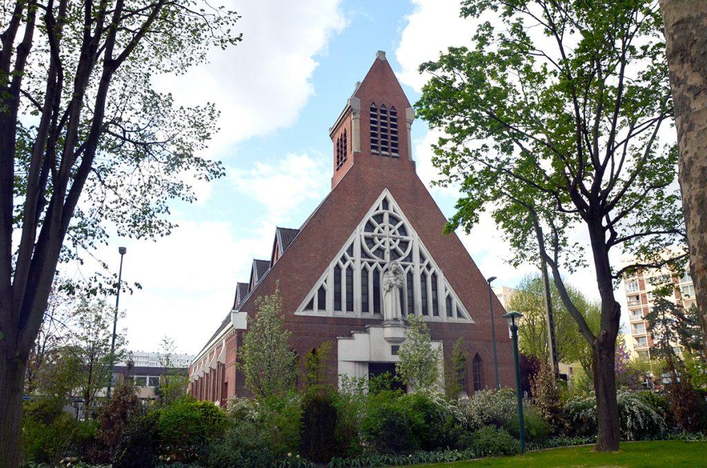 Eglise Saint-Joseph Villeneuve-La-Garenne par l'architecte Charles Venner des Chantiers du Cardinal