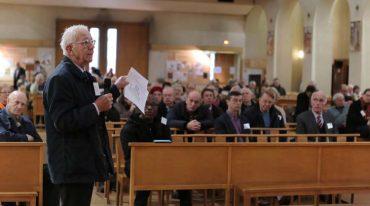 Les délégués des Chantiers du Cardinal en assemblée générale