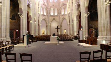Le chantier de l'église Saint Ignace, au défi de l'art liturgique