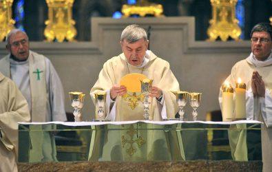 14 janvier 2018, consécration de l'autel de la cathédrale basilique de Saint-Denis