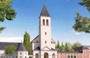 Création du centre ecclésial Saint-Colomban à Val-d'Europe (77)