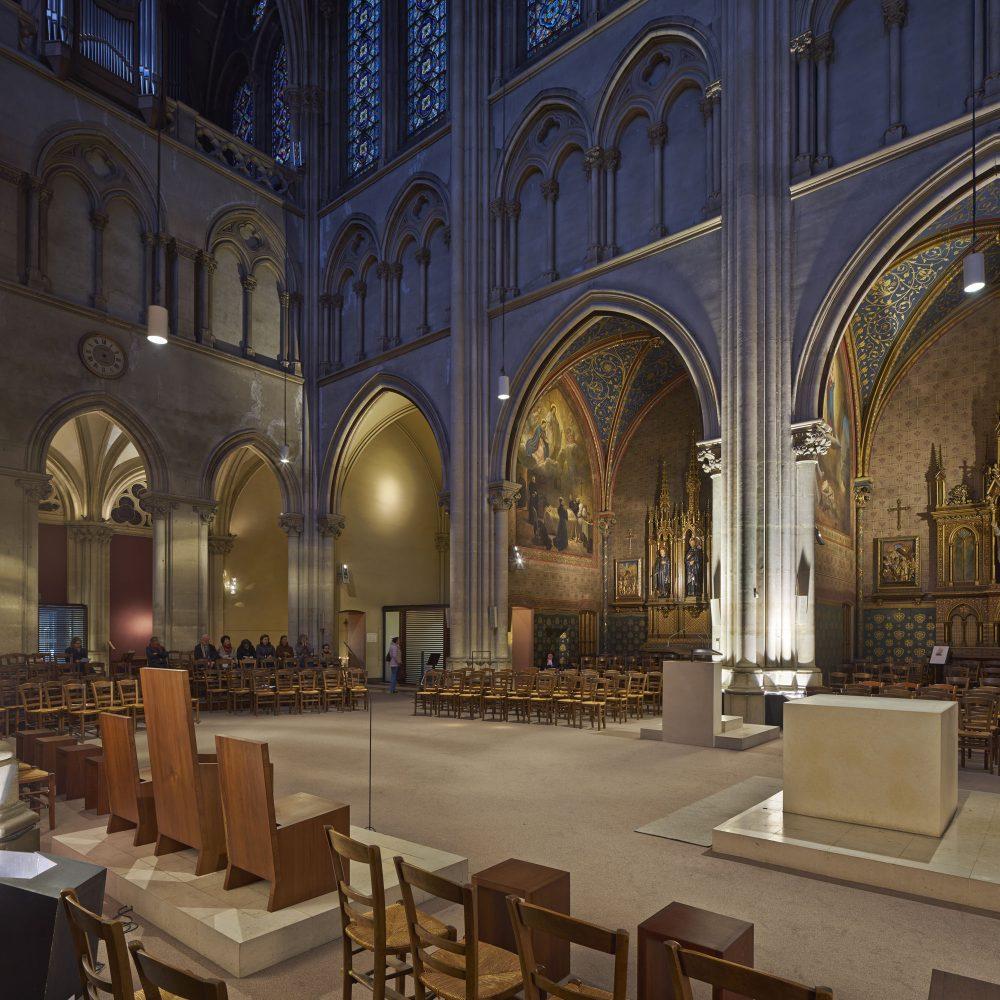 Réaménagement de l'église Saint-Ignace à Paris 6e