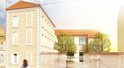 Réaménagement de la maison Saint-Charles à Versailles (78)