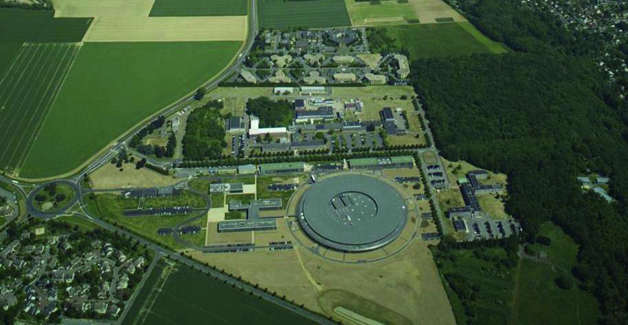 Vue aérienne du plateau de Saclay