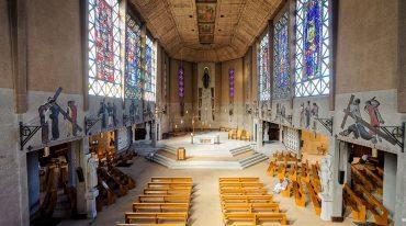 30 septembre : bénédiction des vitraux de Sainte-Thérèse à Boulogne