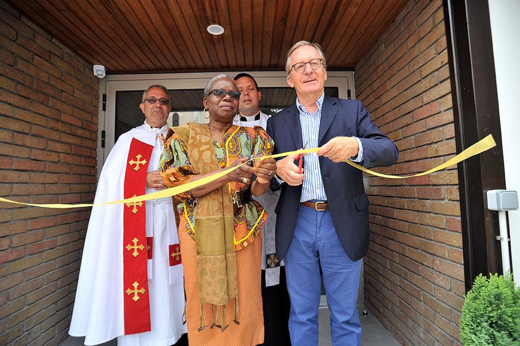 Jérôme Tolot, directeur des Chantiers du Cardinal, inaugure