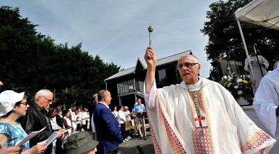 Mgr Michel Santier, évêque bâtisseur pour Créteil