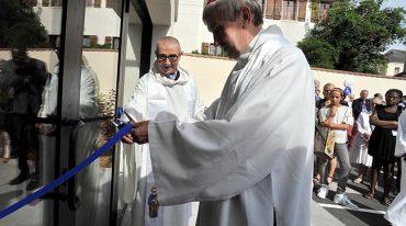 Inauguration de la maison paroissiale Saint-Jean-Paul II à Montfermeil (93)