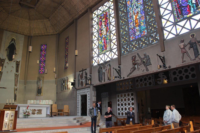 L'église Sainte-Thérèse à Boulogne